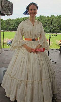 Southron Creations: Anatomy of a Civil War Sheer Dress