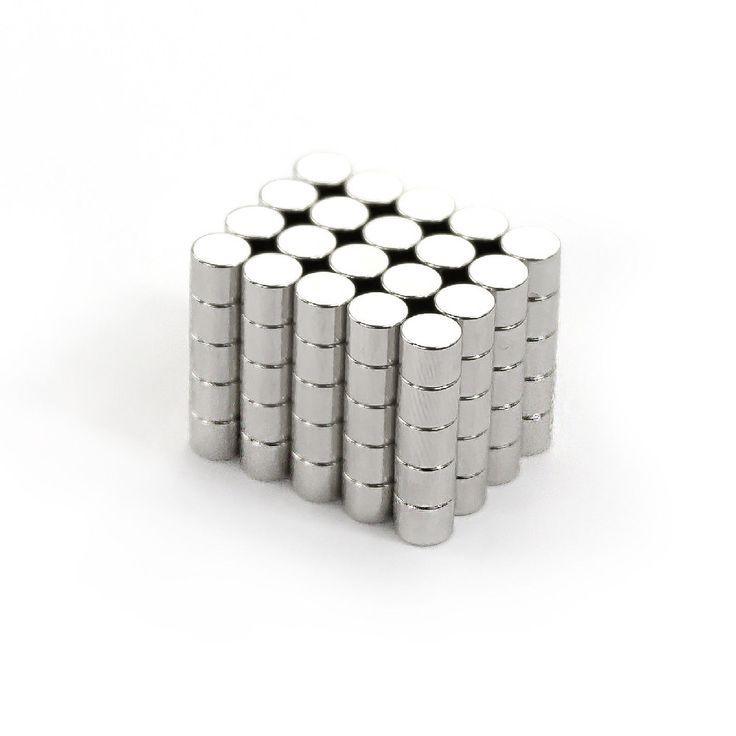 Neodym Magnet N38 ø 5 x 4 mm in Magnete  • Scheibenmagnete