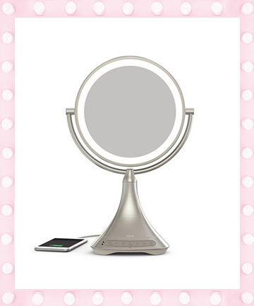 iHome Double-Sided Bluetooth Vanity Mirror, $149.99