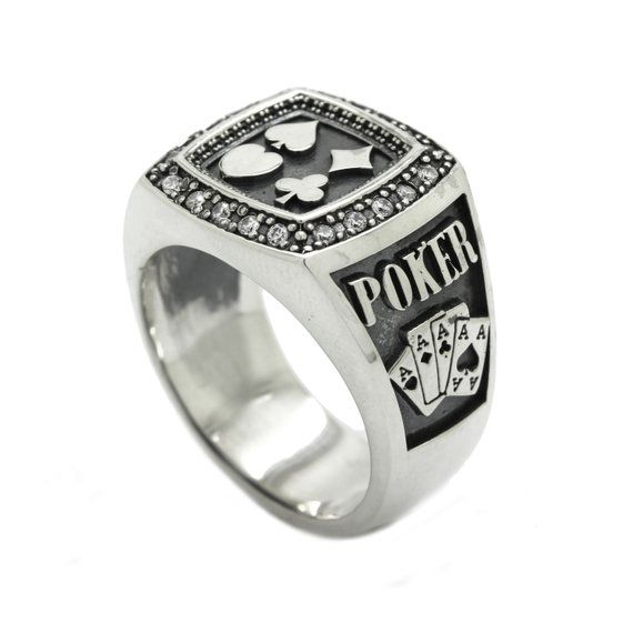 Sterling Silver Mens Curb Side Dad  Ring