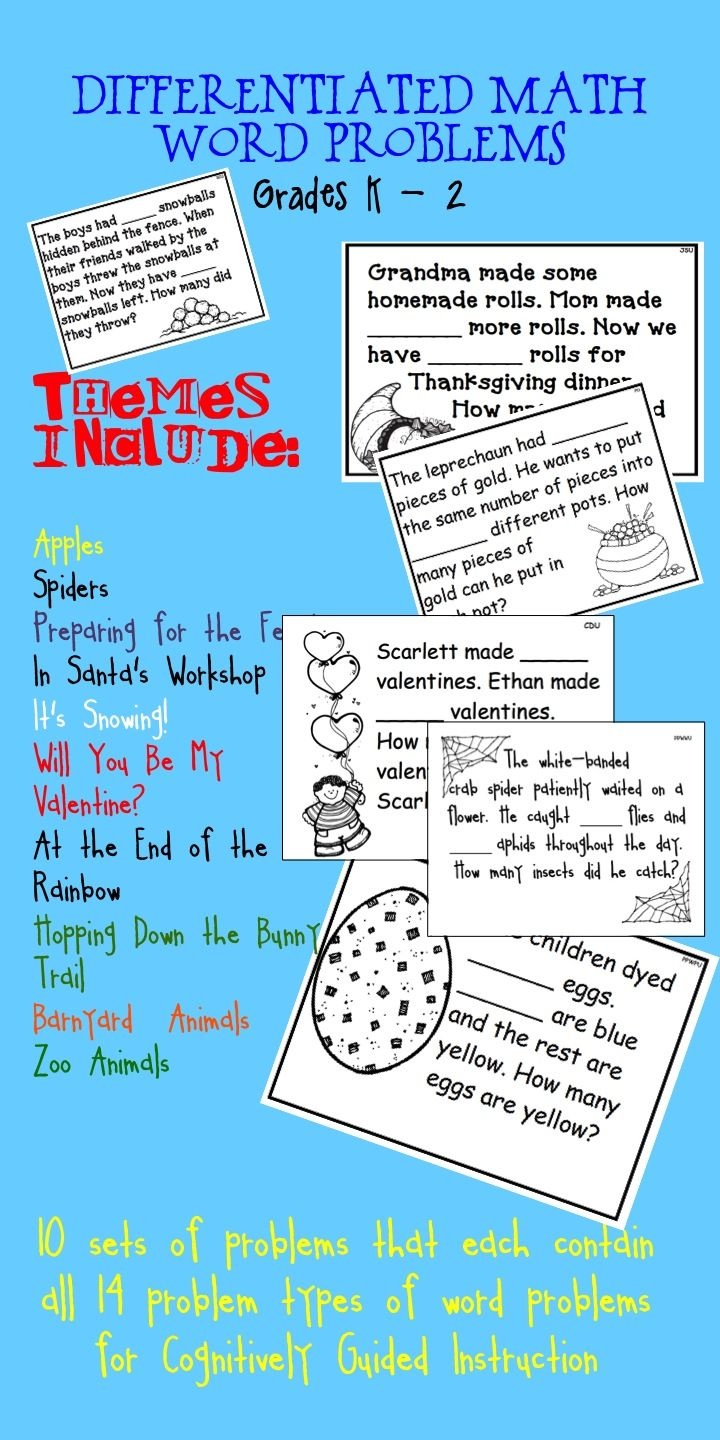 Nice Types Of Math Word Problems Gallery - Worksheet Math for ...