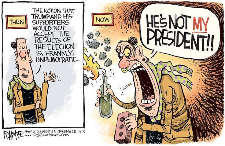 Then and Now - He's not my President