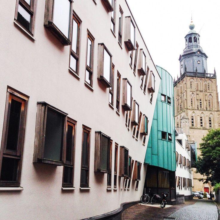 Hanzestad Zutphen architecture