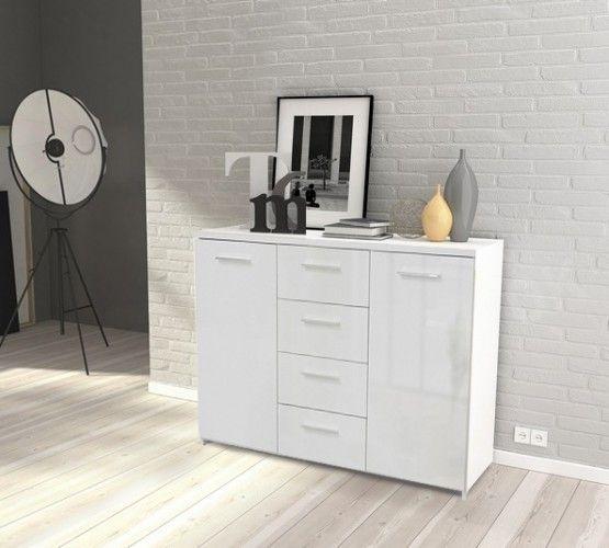 Elegantní komoda z programu Crown zcela promění váš interiér. Disponuje praktickým úložným prostorem. Též oslní snadnou údržbou. Čisté linie a jednolitý...