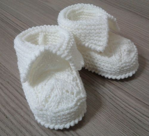 Baby Lace Booties by Beyhan Cayir. Free on ravelry. Booties Size: 3-6 Months