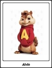 Alvin Seville / Alvin y las Ardillas / Alvin & The Chipmunks / Live Action Cartoon Movies