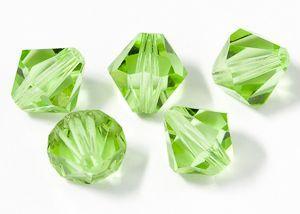 ID1211 - 3mm Peridot Swarovski® Crystal Bicone Beads (Article 5301)(1)