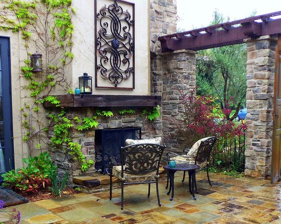 Ordinaire Tuscan Garden Decor Home Design Ideas And Pictures