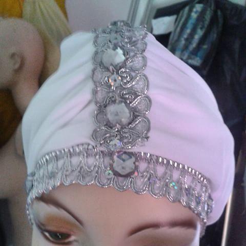 Turbante iyawo Asho - Traje de Santos  04125055352 @edgardao15 @oddeire @victoryemaya #Noticias #puertocabello #santeria #elegua #yemaya #oshun #oggun #oshosis #orishaoco #obatala #traje #diseño #creacion #yoruba #santo