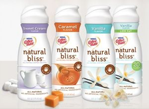 coffee-mate natural bliss creamers