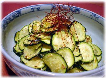 【レシピ】 韓国料理:ズッキーニのナムル [世界のおうちご飯] All About