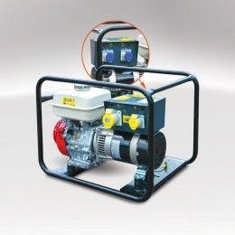 Evopower Pro MG 5000 5kVA Open Frame Petrol Generator