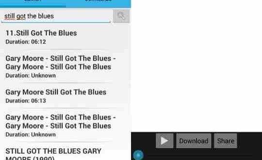 App per scaricare musica con il telefono cellulare. Download Gratis musica sullo smartphone per portare con voi tutta la musica mp3