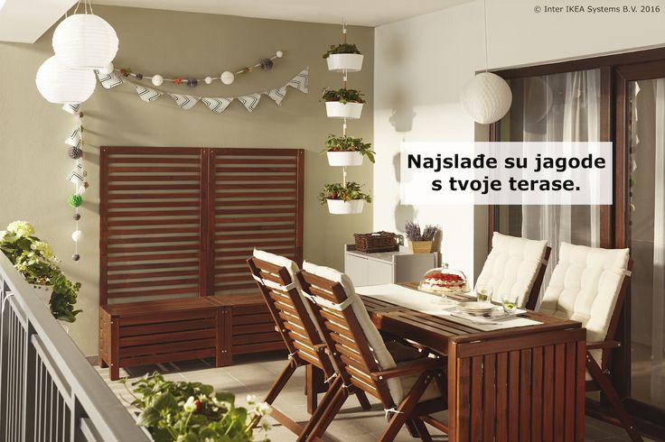 Posadi voće i povrće u BITTERGURKA viseću teglu i uživaj u svježim namirnicama koje su ti nadohvat ruke. :) www.IKEA.hr/BITTERGURKA_viseca_tegla