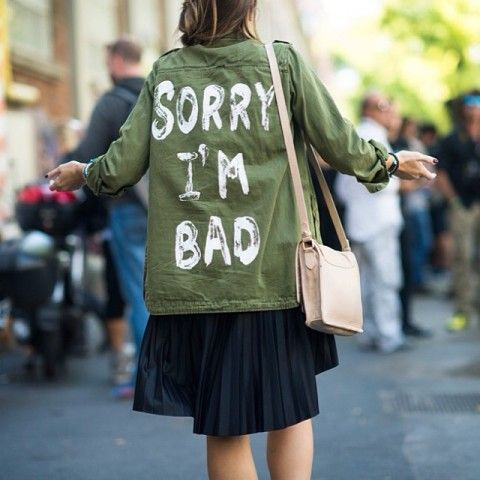Street-Chic Utility Jacket   Spotted on @L E 21ème