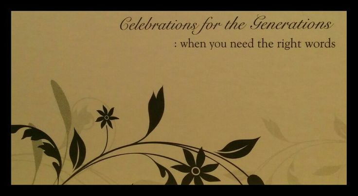 ..when you need the right words.... Contact ... Celebrations for the Generations  .... Contact me for marriage celebrant services, Australia...