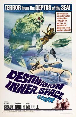 Destination Inner Space Movie Poster Puzzle Fun-Size 120 pcs