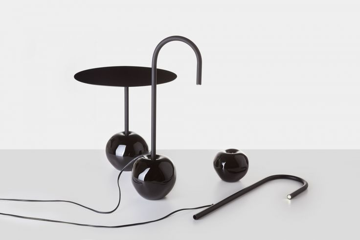 Antimatter table and table lamp_DECHEM collection