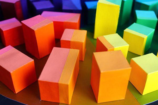 3D Color Wheel by Andrea Romero, via Behance