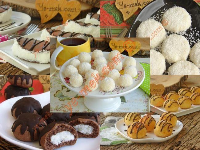 Hindistan Cevizinden Yapılan Tatlılar Resimli Tarifi - Yemek Tarifleri