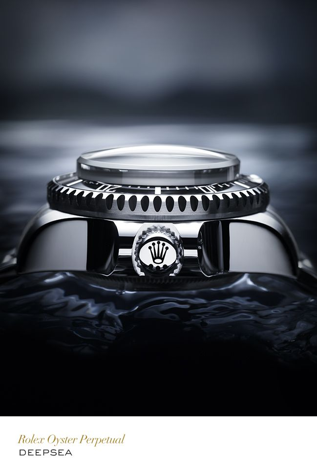The Oyster Perpetual Rolex Deepsea Challenge is an experimental diving watch certified waterproof up to 12,000 metres (39,370 feet), entirely designed and built by Rolex to resist the extreme pressure in the deepest reaches of the oceans. Setting the record for the deepest diving watch in the world. #Exploration #RolexOfficial