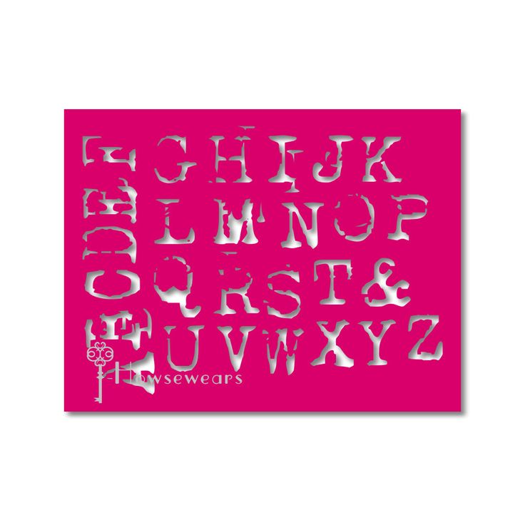 Stencil,Letter stencil,Craft stencil,Alphabet Stencil,Scrapbooking supplies,Stensil,Gelli® Plate,Re-usable,Pattern stencil,Template,Painting by Howsewears on Etsy https://www.etsy.com/listing/159951312/stencilletter-stencilcraft