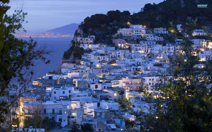 Capri, Italy.  I could get used to a slower pace of life.
