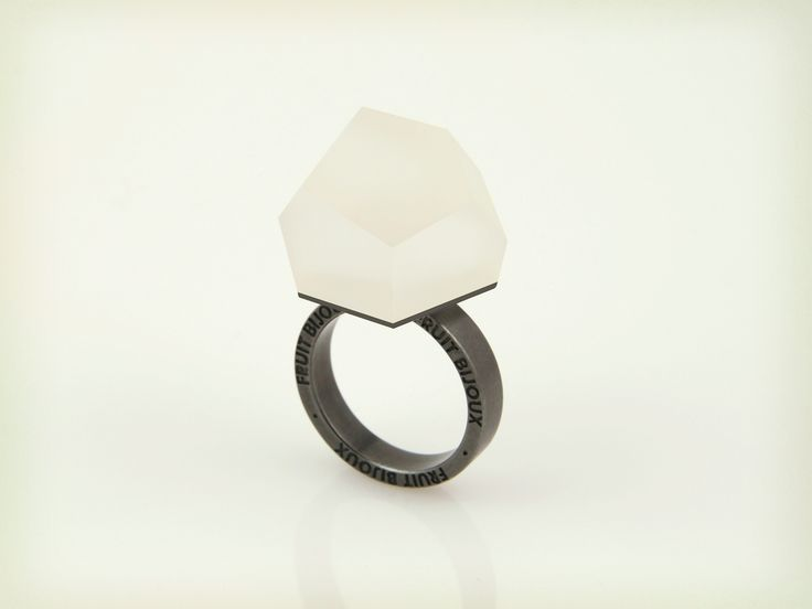 Vu - crystal clear, ruthenium ring - =PYO=