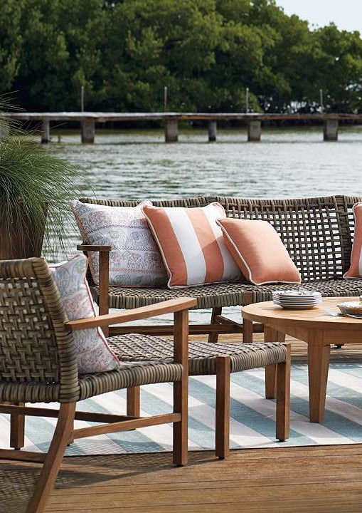 The open weave design of the Isola Seating collection is ideal for warm summer days enjoying the company of friends and family.Summer Day