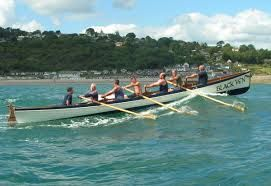 Scilly Isles rowing gig