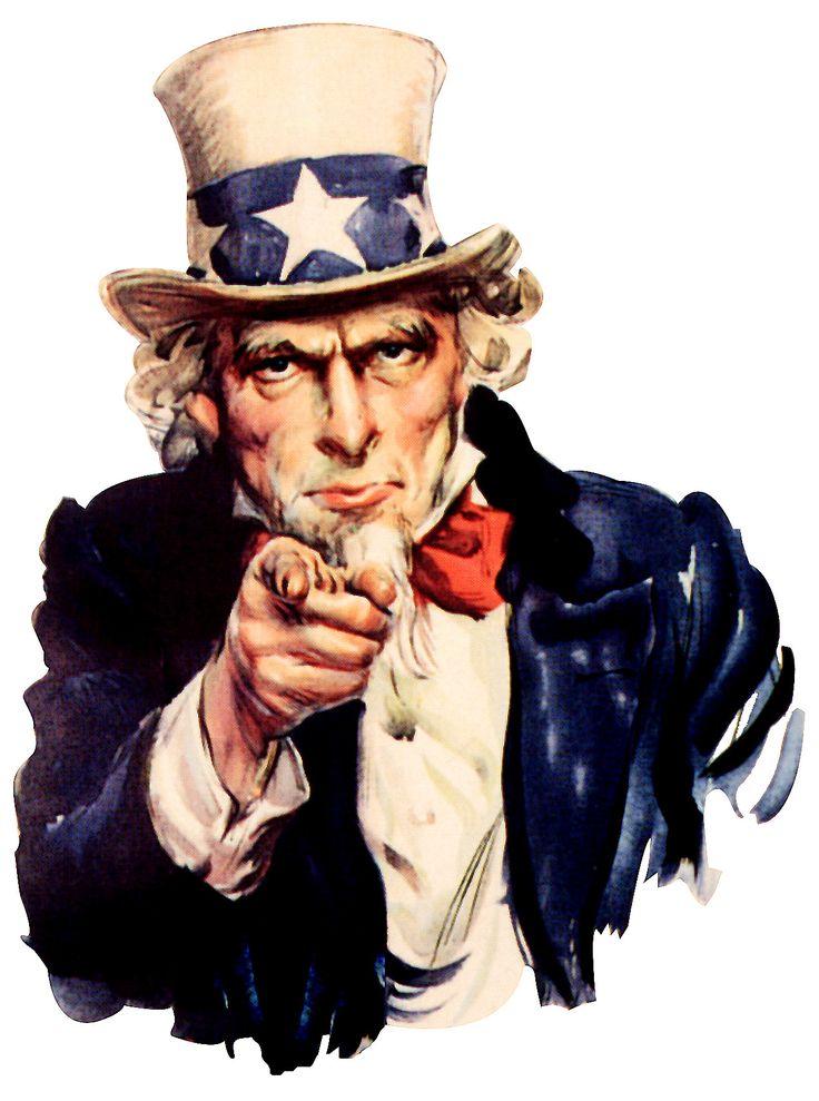 Uncle Sam...ah yes!