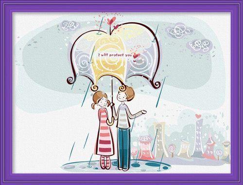 CR 022 - I Will Protect You Rp 165.000,-  Canvas size: Ukuran 30 x 40 Packaging size: 31 x 41 x 3.5 cm (setara dengan 1 kg)  ALICE painting kit sudah termasuk - Kanvas pattern lukisan yg dibuat dari high grade cotton dengan tekstur halus. - Cat pigment warna yg ramah lingkungan, tidak beracun dan tidak cepat pudar. - Beberapa kuas nylon. - Kertas manual kode warna  Email: jjbigstore@yahoo.com Instagram: @Silvblue Shop We Chat, Kakao, Line: silvblue SMS: 0818 0832 9022 WhatsApp 0896-2860-9094