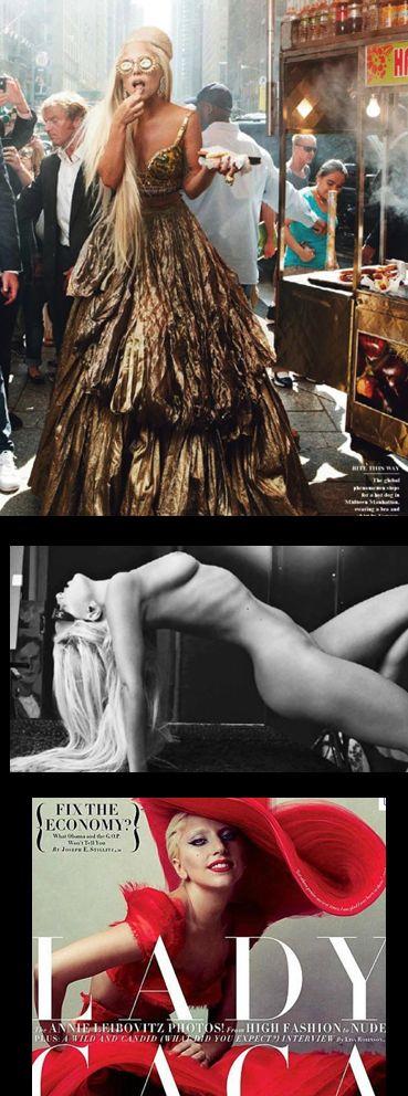 Lady Gaga para Vanity Fair  http://www.disegna.net