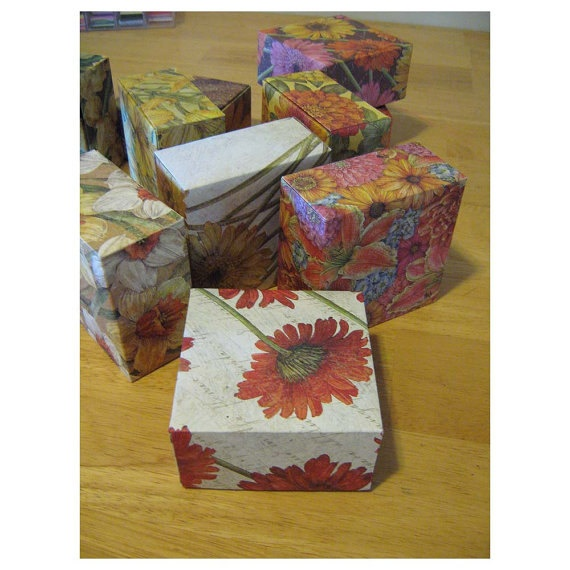 Indian Summer - Gift Boxes. $20.00, via Etsy.