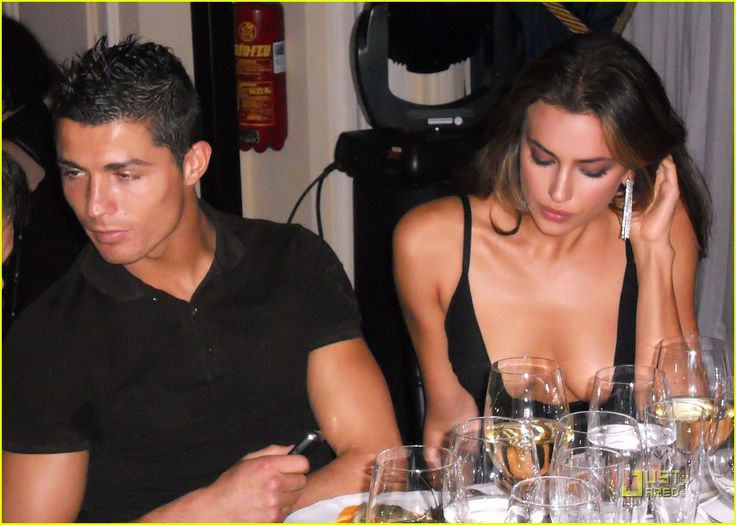 Cristiano Ronaldo and Irina Shayk Have Dinner After Glamour Awards