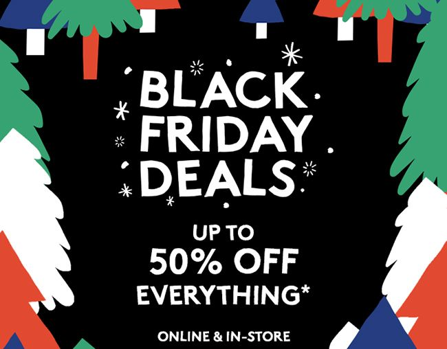Urban Outfitters Black Friday creative 2015