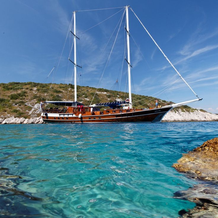 Here's the gulet we are using for our first ever cultural cruise in Croatia this September.