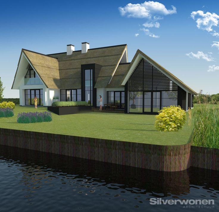 Bekijk hier de diverse mogelijkheden van architect SILVERwonen, villa 's, landhuizen, herenhuizen en vraag geheel vrijblijvend het INSPIRATIEBOEK aan