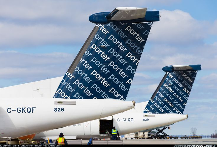 Porter Airlines De Havilland Canada DHC-8-402Q Dash 8 @ YHZ