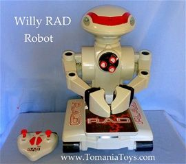 Willy RAD Robot - RC Radio Controlled - BIG Size Robot