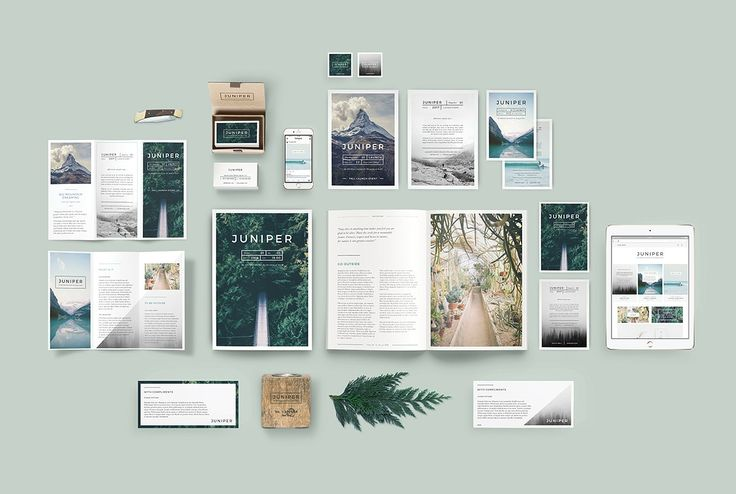 J U N I P E R  Branding Bundle! by 46&2 Collective on @creativemarket
