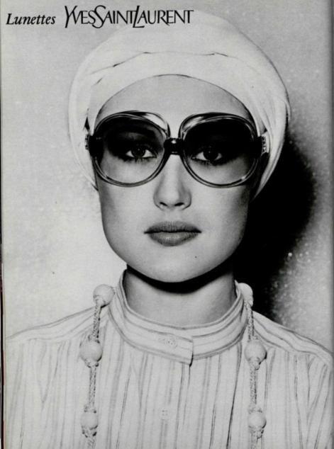 Yves Saint Laurent ad, 1976.