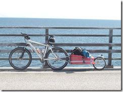 Einrad Lastenanhänger für Fahrräder