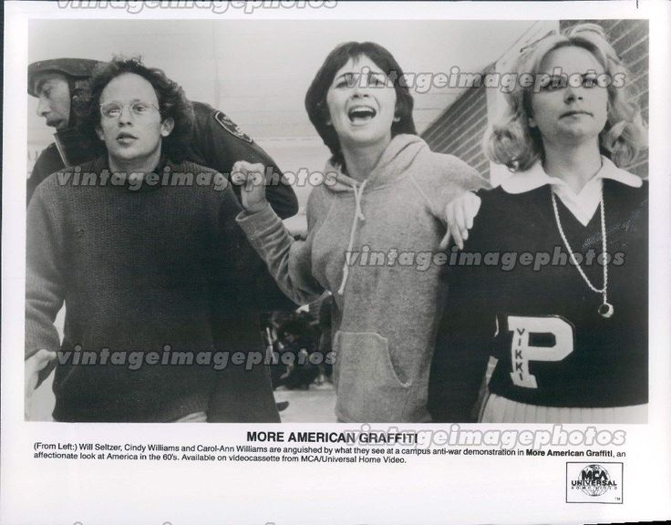 1973 Will Seltzer Cindy Williams Carol Ann Actress American Graffiti Promo Photo | eBay
