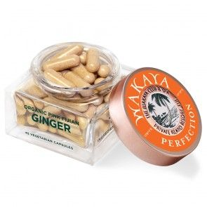Ginger Caps Daily Ginger Supplement for Wellbeing