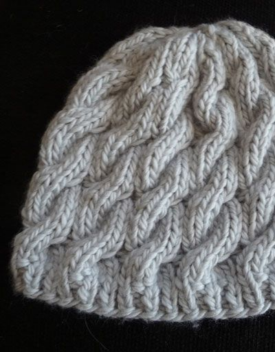 Cute hat!  http://www.classiceliteyarns.com/WebLetter/127/Issue127.php