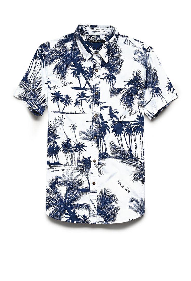 Mr. Aloha Shirt   21 MEN #21Men