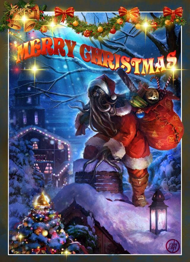10 Best Images About Lovecraft Christmas On Pinterest