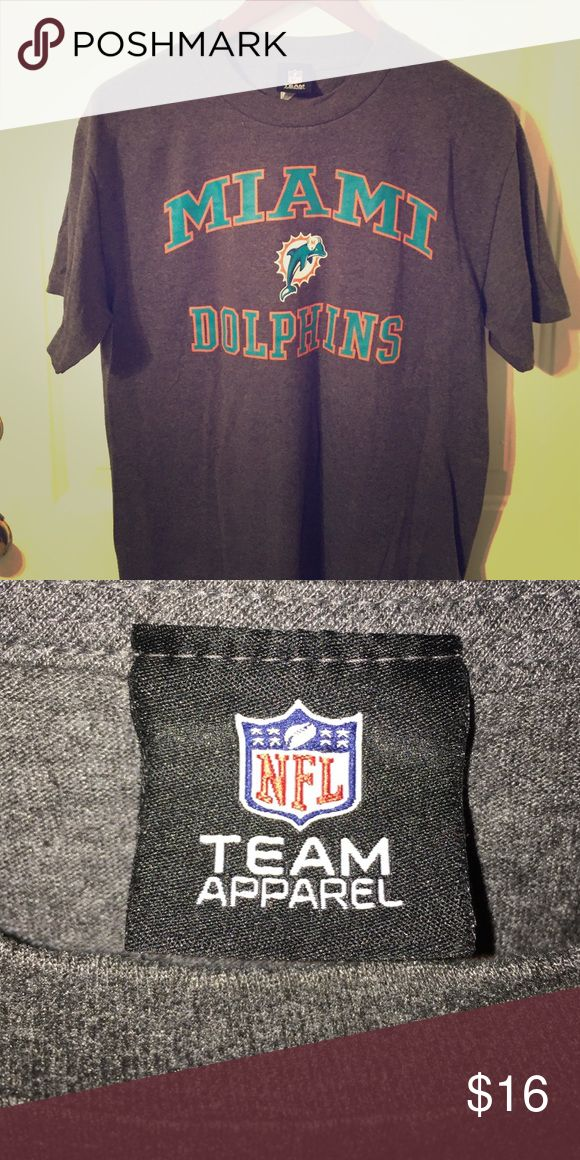 Top mens white miami dolphins cotton team tank top  for sale