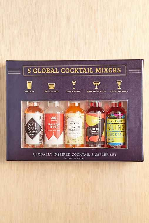 5-Piece Global Cocktail Mixer Set - Urban Outfitters
